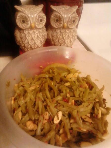 French Green Bean Crunch Vegetable Dish. Recipe