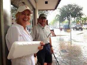Photo: Cat Albert and Ted Matz / Artists Rain Break