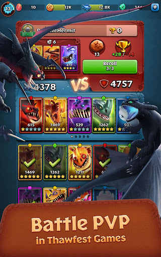 Dragons: Titan Uprising 1.5.11 screenshots 2