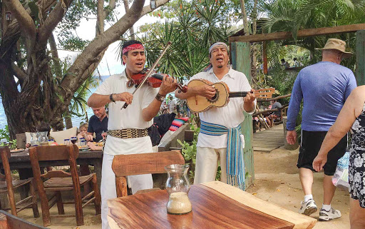 Mariachis-Las-Caletas - Mariachis perform during lunch at Las Caletas near Puerto Vallarta, Mexico, during a Ruby Princess shore excursion.