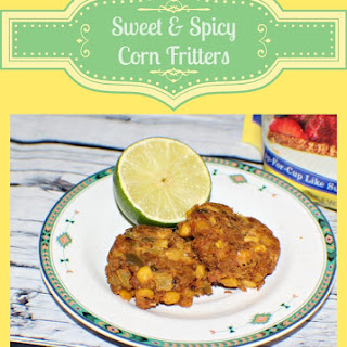 Sweet & Spicy Corn Fritters.