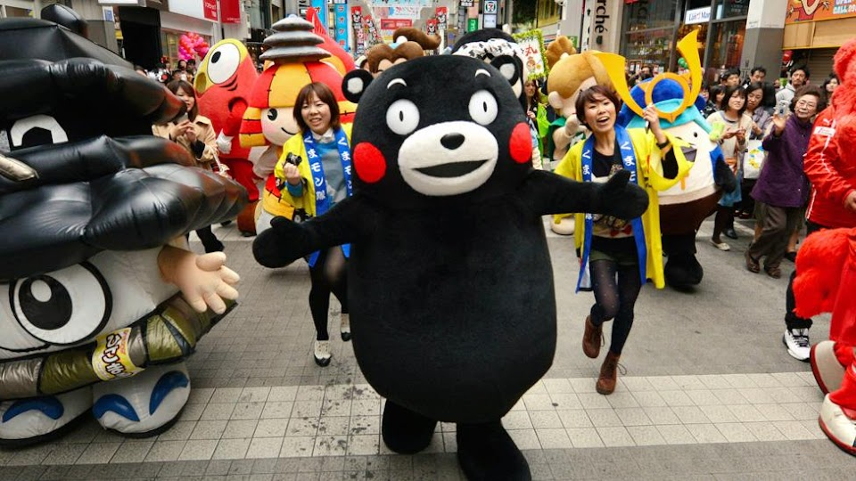 Kumamon Birthday Parade