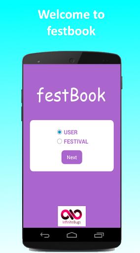 FestBook screenshot 1