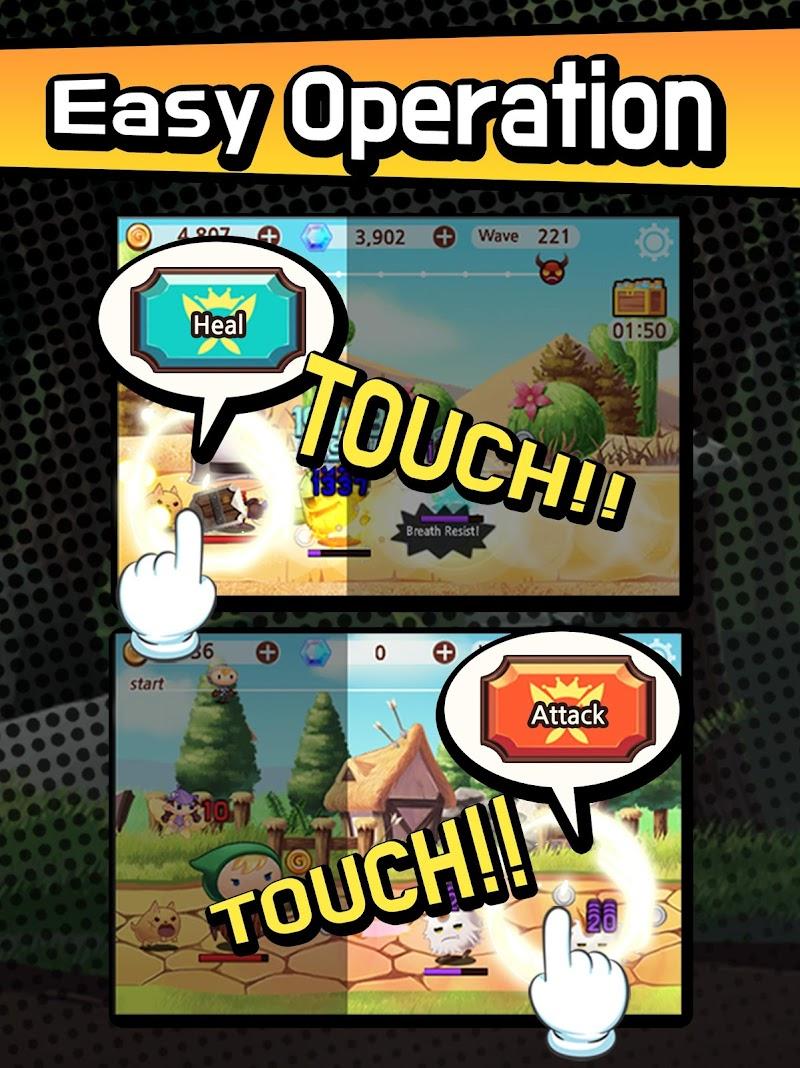Sudden Warrior (Tap RPG) Screenshot 6