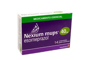 Esomeprazol Nexium Mups 40Mg Comprimidos Caja x14Com. AstraZeneca Esomeprazol