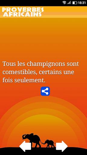 Proverbes Africains En Franu00e7ais 1.21 screenshots 1