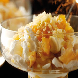 Toffee Apple Eton Mess with Popping Candy.