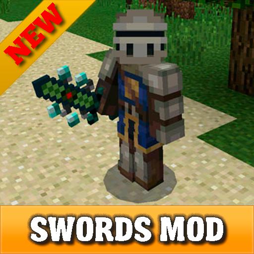 Elemental Swords mod for MCPE