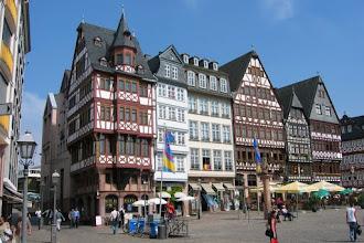 Photo: De 'Altstadt' van Frankfurt.