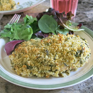 Herb Crusted Chicken.