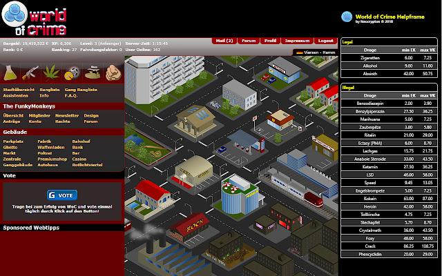 World of Crime Helpframe v1.15