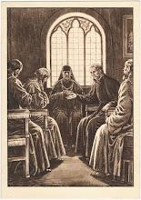 Photo: Rozmawia z uczonymi schizmatykami.