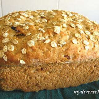 Eggless Oatmeal Bread