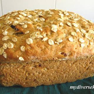 Eggless Oatmeal Bread.