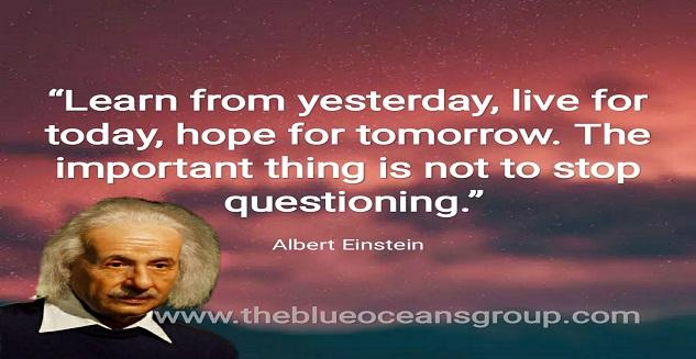 Albert Einstein Learnings
