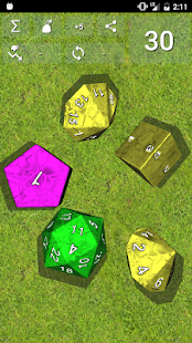 DnDice - 3D RPG Dice Roller- screenshot thumbnail