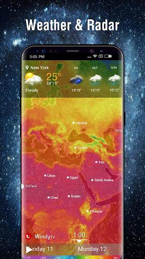 Free weather radar & Global weather screenshot