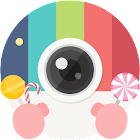 Candy Camera - Selfie Autofoto icon