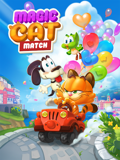 Magic Cat Match : Swipe & Blast Puzzle 1.0.7 app download 9