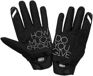 100% Brisker Youth Full Finger Gloves alternate image 0