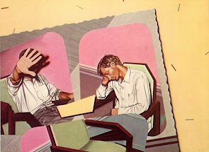 """Photo: """"Carte postale (Gilles)"""", 1977, acrylique sur toile"""