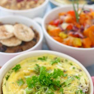 Omelette (vegetarian) Back to School- Breakfast in a Mug.