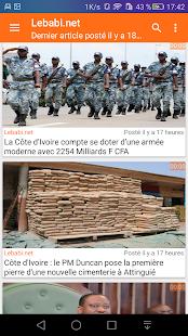 Actu Côte d'ivoire - náhled