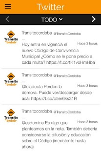 Transito Cordoba- screenshot thumbnail