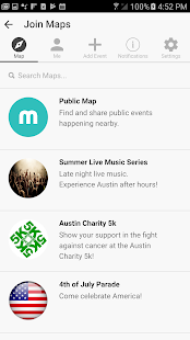 Maply - Local Event Sharing and Discovery- screenshot thumbnail