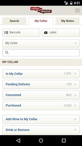 CellarTracker 1.7.4 screenshots 1