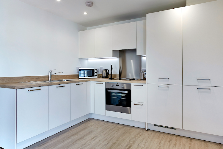 Fully equipped kitchen at Deanery Court