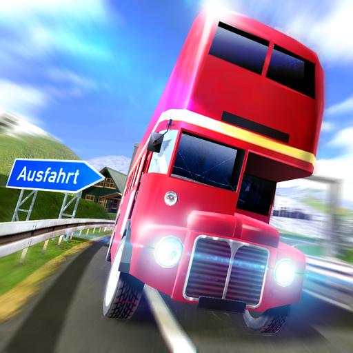 Euro Bus Driver 3D: Uphill Sim