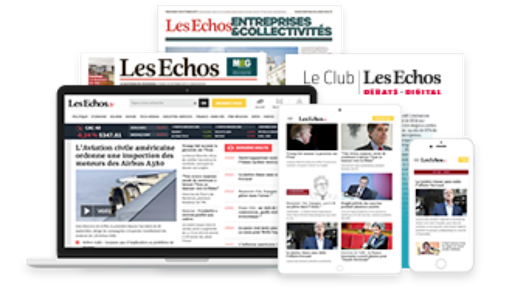 les echos journal + digital first
