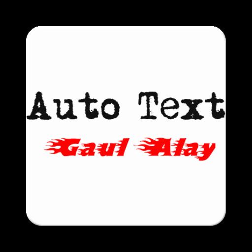 Autotext Gaul Alay