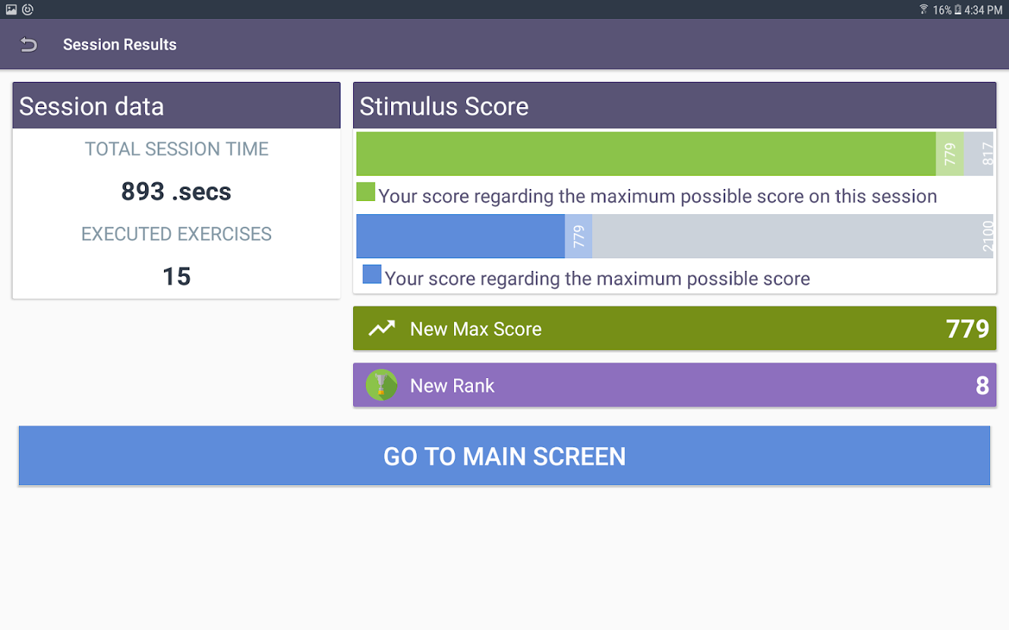 Stimulus FREE - Brain Challenge- screenshot