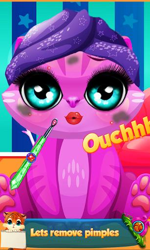 Kitty Cat Makeup Salon: Pet Beauty Salon & Spa 1.0 screenshots 2