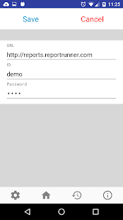 Report Runner for Android- screenshot thumbnail