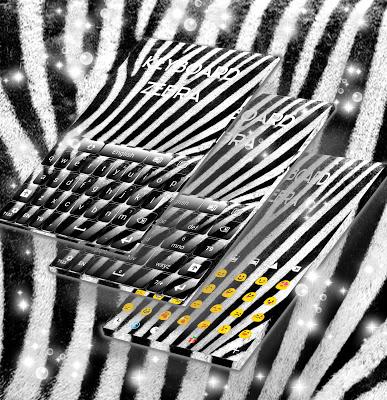 Zebra Print Theme For GO - screenshot