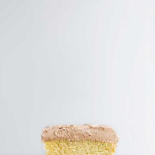 Classic Homemade Yellow Cake.