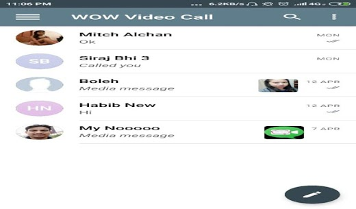 WOW Video Chat App Download For Android 1
