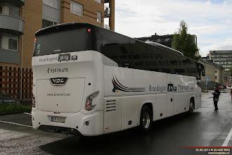 Photo: B#: DN 90901 ved Drammen stasjon, 25.06.2012. Brandtsgård Buss AS, Sande.