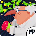 Super Hero Factory : Idle Clicker Tycoon Inc icon