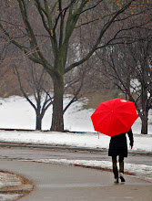 Photo: Cynthia Andrews made her way around Lake of the Isles early Friday as rain fell on the Metro area, January 11, 2013 in Minneapolis, MN.   (ELIZABETH FLORES/STAR TRIBUNE) ELIZABETH FLORES ¥ eflores@startribune.com