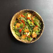 Warm Chilli Paneer Salad (v)