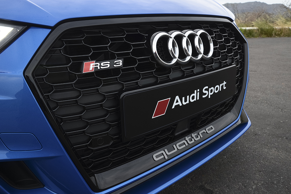 A dynamic duo: the new Audi RS 3 Sedan and RS 3 Sportback