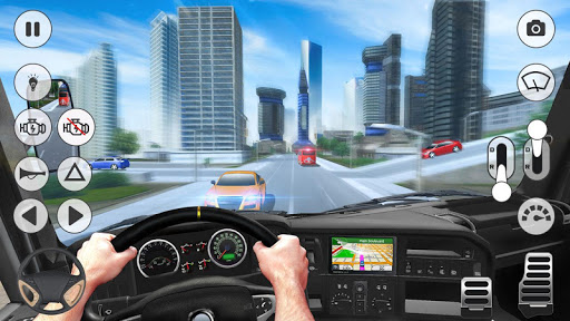 Coach Bus Simulator 2020: Modern Bus Drive 3D Game  Wallpaper 14