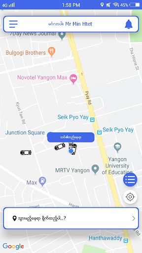 OK TAXI MYANMAR 2.1.9 screenshots 1