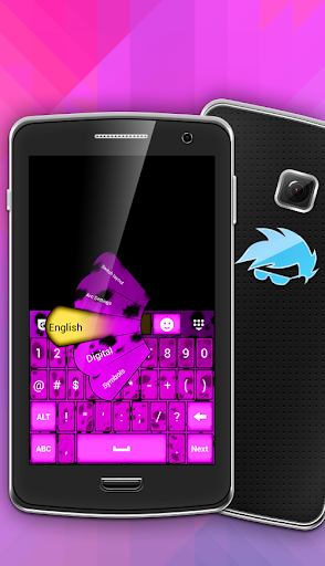 Luxury Pink Keyboard Theme