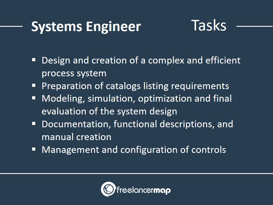 Responsibilities of a Systems Engineer