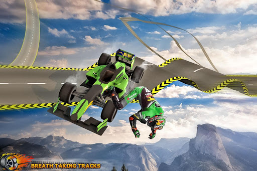 Formula Car Stunt  Race apkmr screenshots 5